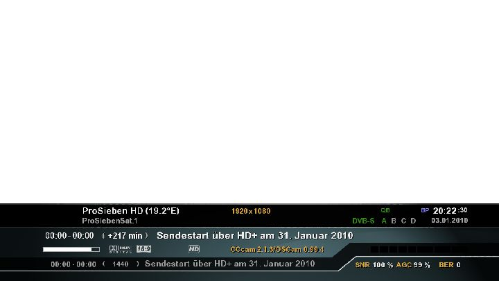 Oscam Configs: Howto HD+ mit Oscam